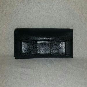 Kate spade wristlet/wallet blue